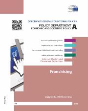 Study on Franchising prepared for the IMCO Committee