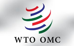 Image of the logo of the World Trade Organization