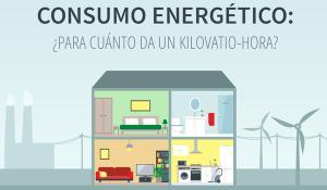 Nuestra infografía muestras las grandes líneas del consumo energético de los hogares.