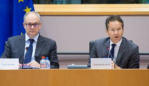 Dialogue and discussion with Jeroen Disjelbloem at the Committee on Economic and Monetary Affairs