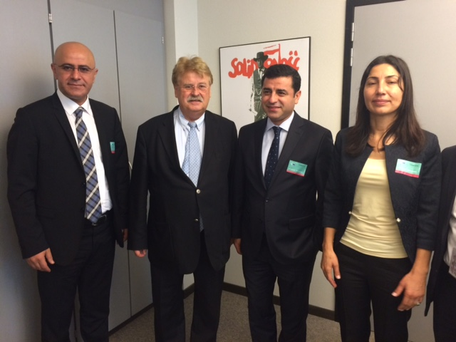 Elmar Brok and Selahattin Demirtas (HDP party in Turkey) - 1