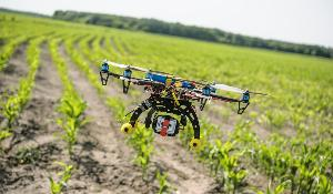 Agricultural Drones  Relatively cheap drones with advanced sensors and imaging capabilities are giving farmers new ways to increase yields and reduce crop damage. ©AP Images/ European Union-EP