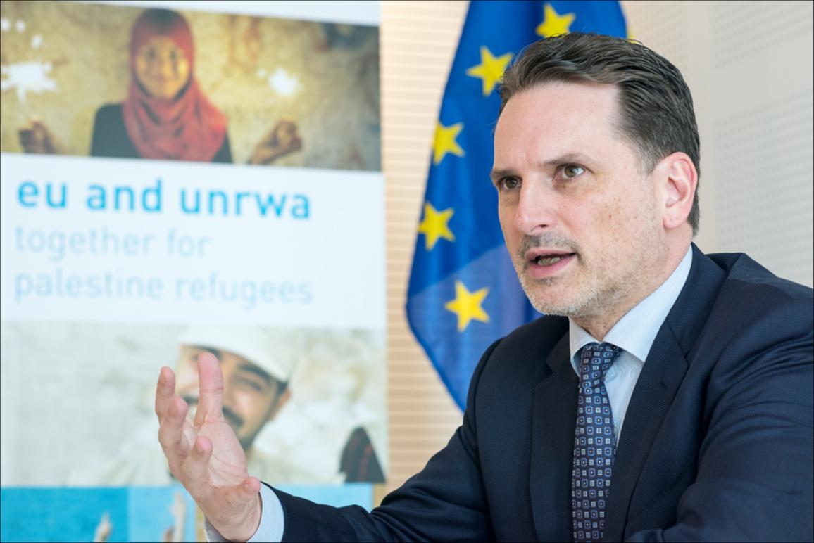 Pierre Krähenbühl, head of UNRWA