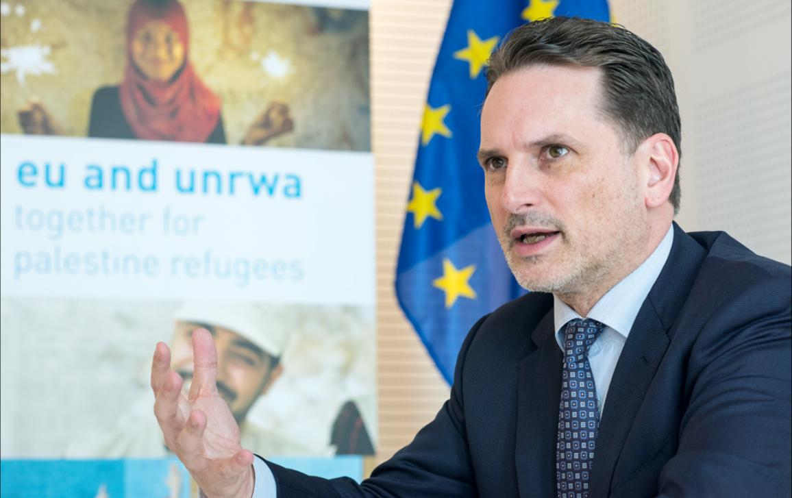 Pierre Krähenbühl, head of UNRWA