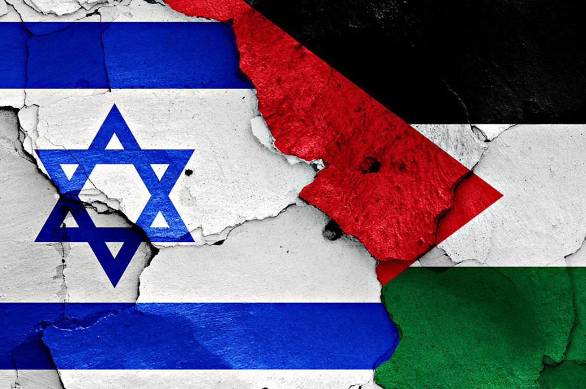 Israel -Palestine illustartion