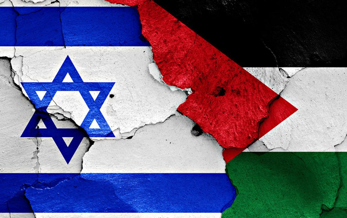 Israel -Palestine illustartion