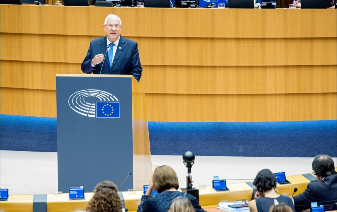 Israeli President, Reuven Rivlin, calls on MEPs to help build trust in the Middle East