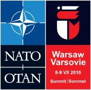 SEDE: logo of NATO Warsaw Summit