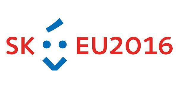 Slovakian puheenjohtajuuden logo
