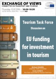 Tourism Task Force - Access to EU funding poster