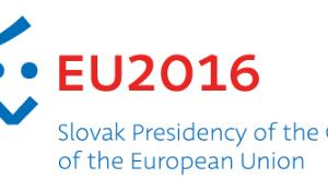 Λογότυπο Σλοβακικής προεδρίας.