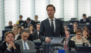 Dutch Prime Minister Rutte at EP Plenary_