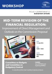 BUDG/CONT workshop on Mid-term revision of the financial regulation