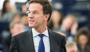 Mark Rutte v pléne