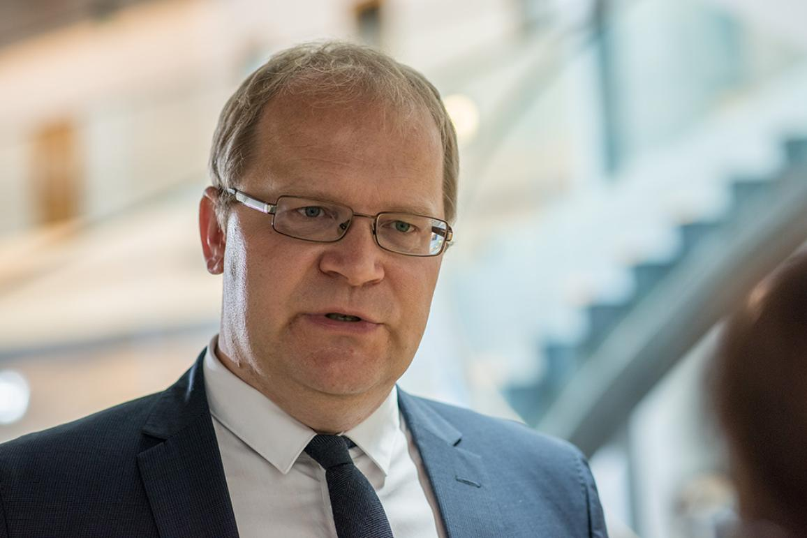 Urmas Paet, who is writing a report on the  European Defense Union