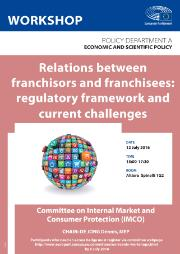 workshop on Relations between franchisors and franchisees: regulatory framework and current challenges