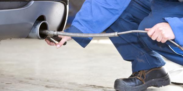 medição das emissões dos automóveis