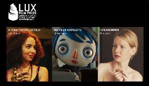 Las tres películas finalistas del Premio LUX de cine 2016 concedido por el Parlamento Europeo.
