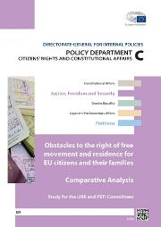 Obstacles to the right of free movement and residence for EU citizens and their families