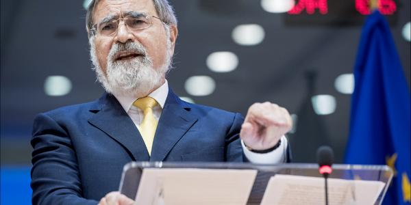 Chief Rabbi of the United Hebrew Congregations of the Commonwealth Lord Jonathan Sacks