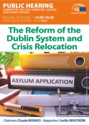 Hearing Dublin and relocation