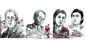 Илюстрации Джан Дюндар, Мустафа Джемилев, Надя Мурад и Ламия Башар