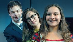 Charlemagne Youth Prize winners 2016 (L-R)