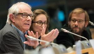 Photo Ken Loach at the EP - CULT - 10 years of the Lux Prize