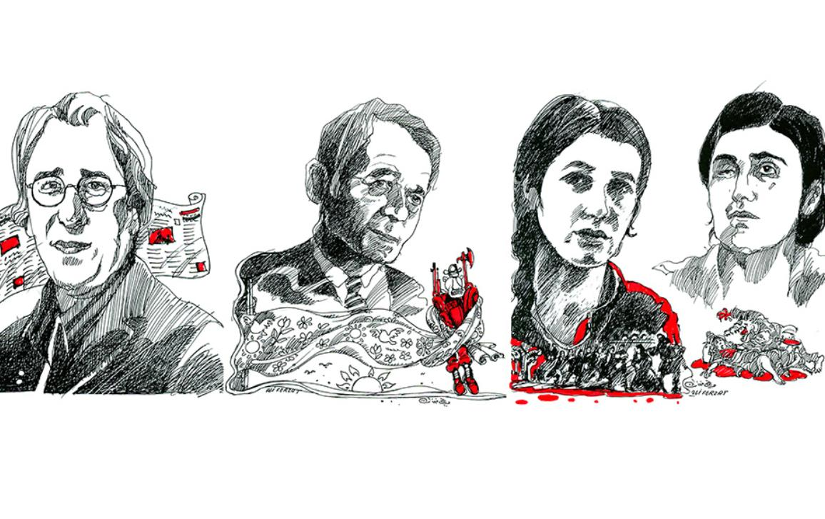 I ritratti dei finalisti del Premio Sakharov 2016.