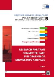Safe integration of drones into airspace study cover