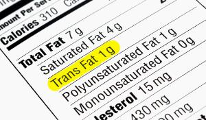 Trans Fat label informations ©AP Images/ European Union-EP