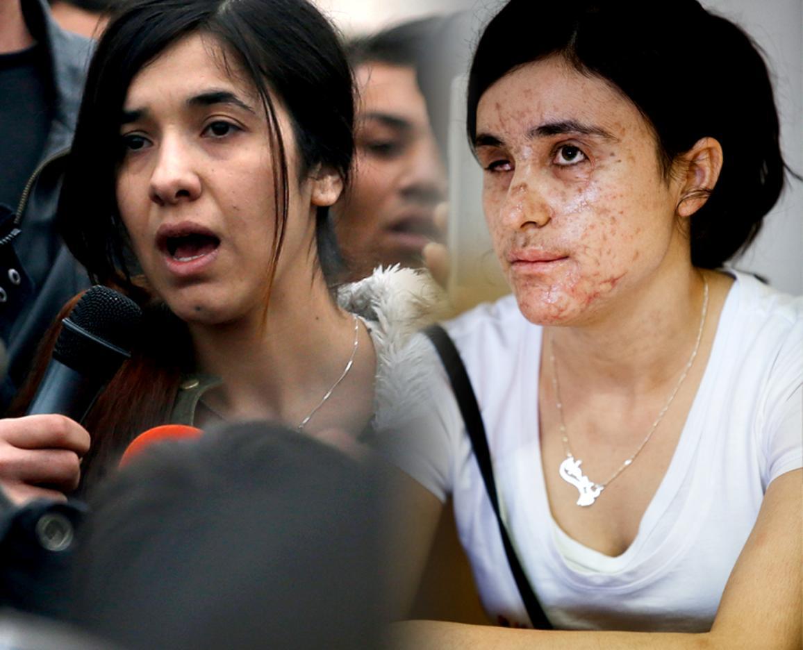Η Nadia Murad Basee Taha και η Lamiya Aji Bashar, οι νικήτριες του Βραβείου Ζαχάρωφ 2016