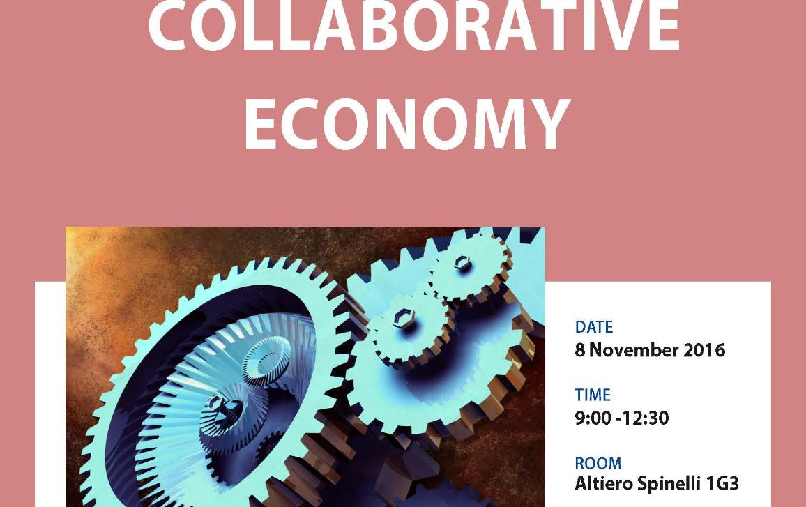 updated version of the poster on the workshop on collaborative economy