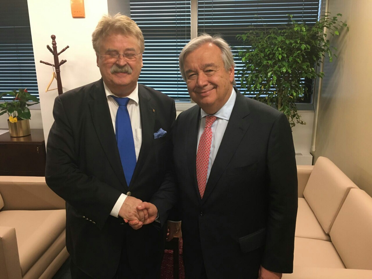 European Parliament Delegation to UNGA headed by AFET Committee Chair Elmar Brok