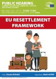 "Hearing on ""EU resettlement Framework"""