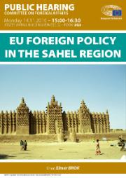 Public hearing on the EU foreign policy in the Sahel region
