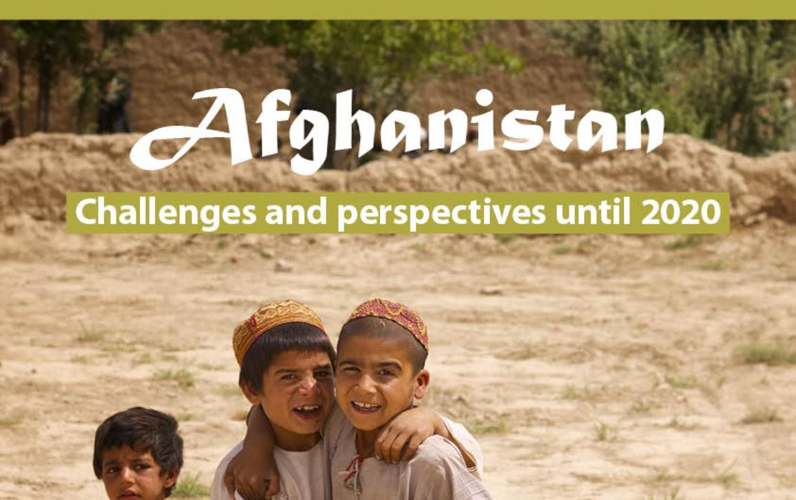 Poster for Afghanistan workshop 17 November 2016 A3G3, European Parliament, showing three boys
