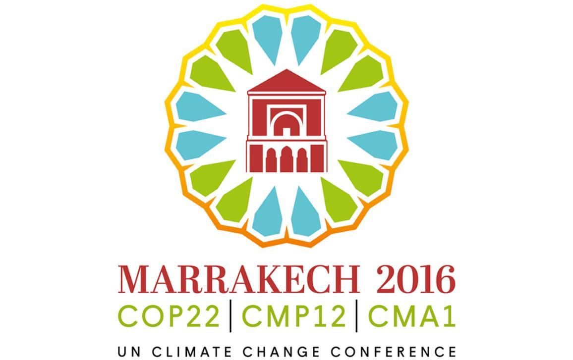 Logotipo da COP 22