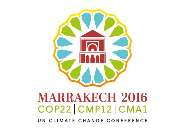 Logo COP 22 in Marrakesh