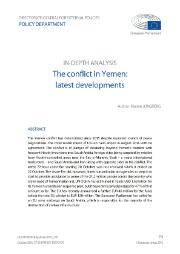 Conflict in Yemen - latest developments