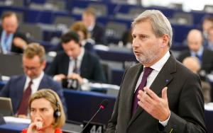 Political group leaders called on EU foreign policy chief Federica Mogherini and Commissioner Johannes Hahn, in charge of Neighbourhood and Enlargement Negotiations, to freeze accession talks with Turkey, in a debate on Tuesday afternoon © EP