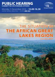 Public hearing on the Situation in the African Great Lakes Region