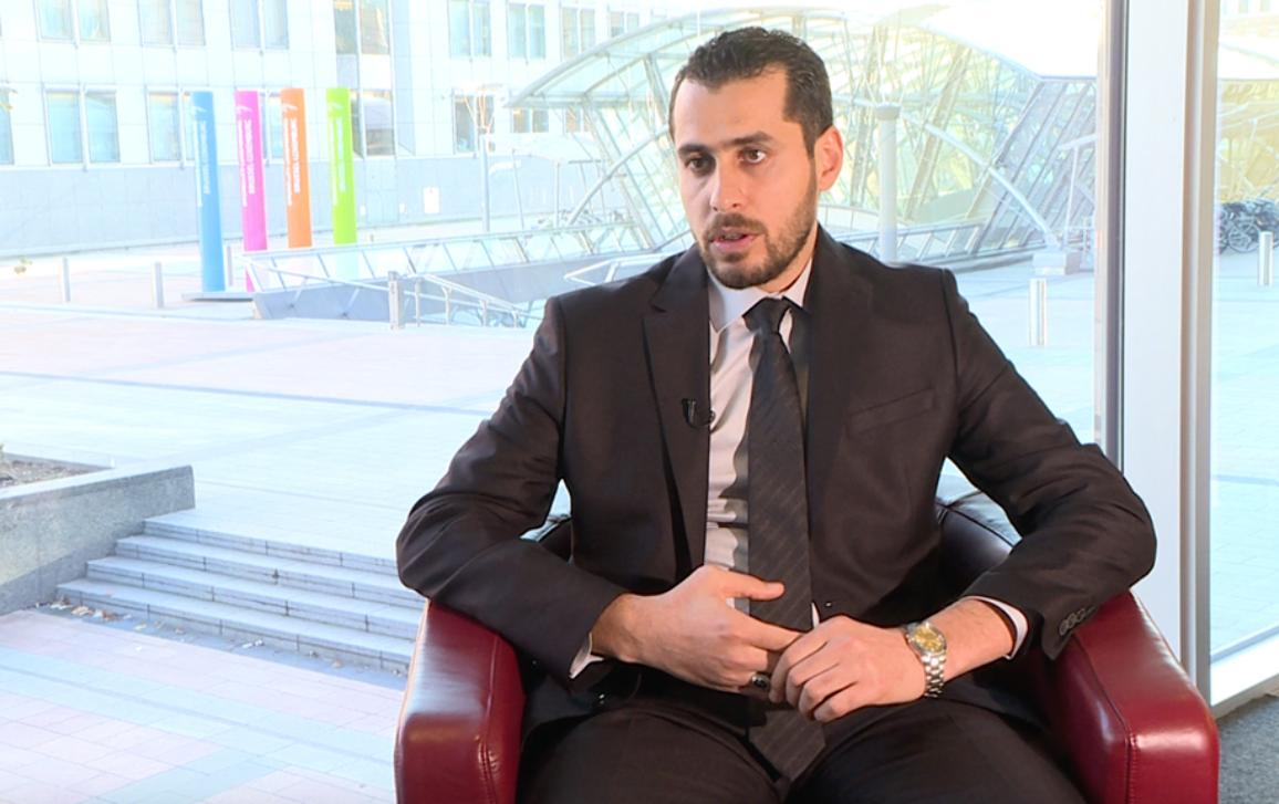 Abdulrahman Al Mawwas, chief liaison officer for the Syrian Civil Defence volunteer force (White Helmets), calls in an interview at the European Parliament for the creation of a humanitarian corridor in Syria, and planes to drop aid to civilians hit by war.