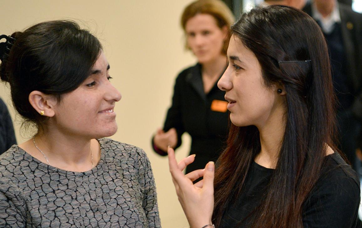 After escaping the clutches of the Islamic State, Nadia Murad and Lamiya Aji-Bashar have become symbols of the Yazidi struggle. A moving portrait of the two laureates of the 2016 Sakharov Prize for Freedom of thought.