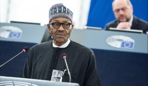Preşedintele Nigeriei, Muhammadu Buhari