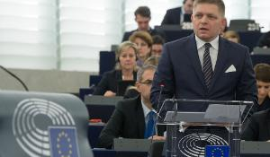 President Fico in the Hemicycle_