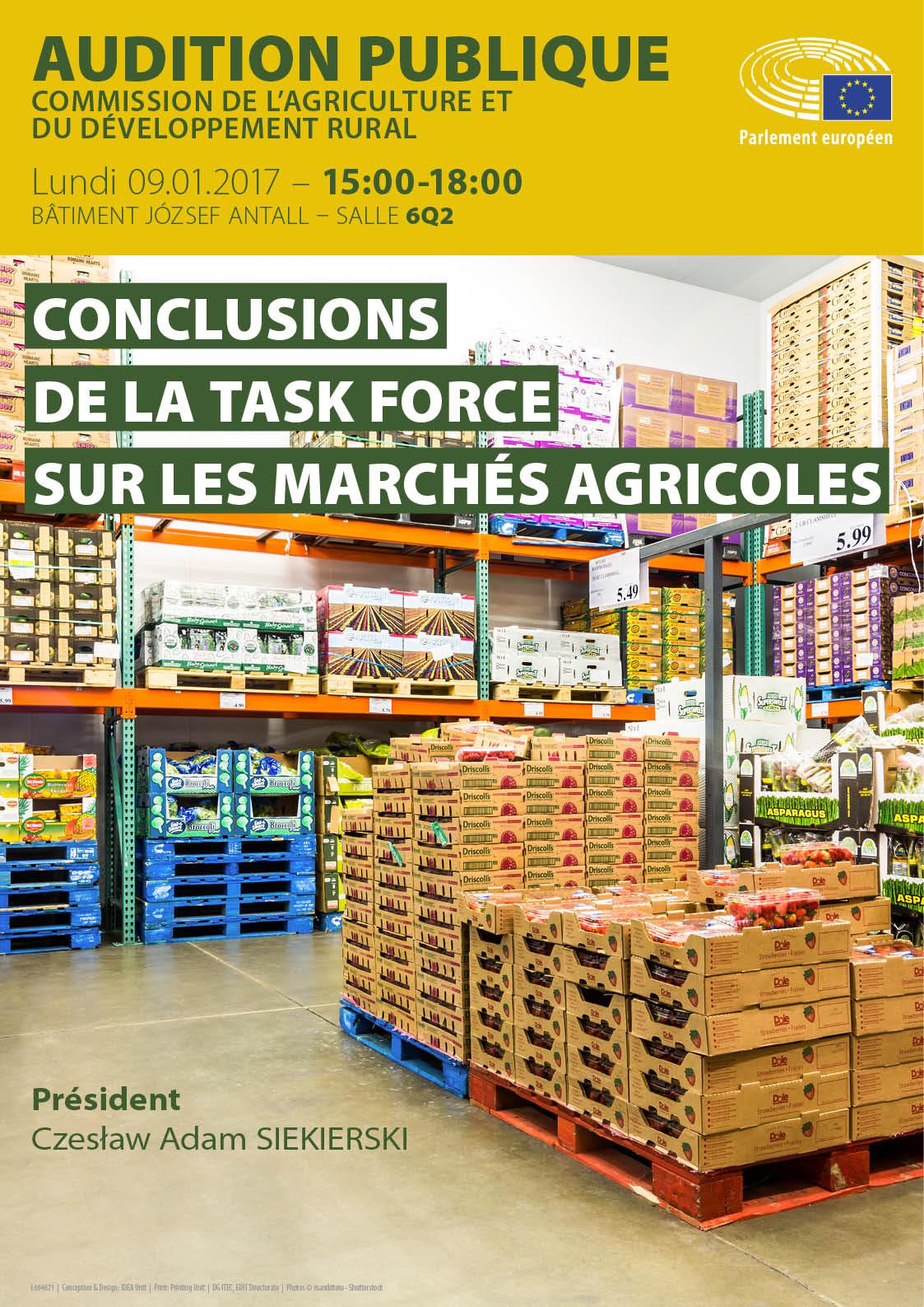 Task Force sur les marchés agricoles