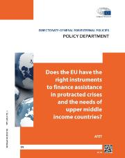 Instruments to Finance Assistance and the needs of upper middle income countries