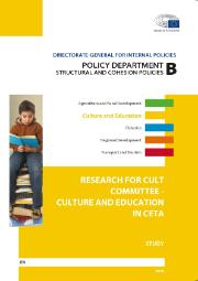 Research for CULT Culture and Education in CETA