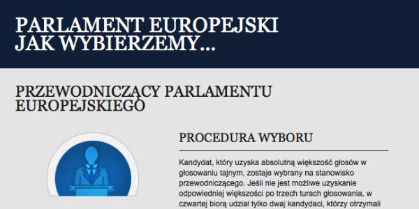 Posłowie wybiorą przewodniczącego Parlamentu Europejskiego